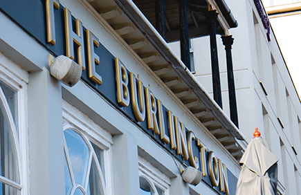 Welcome to the Burling Hotel Worthing